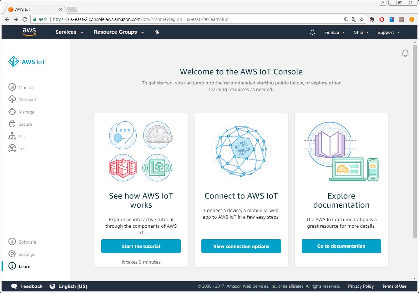 AWS IoT | Weintek Support